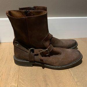 Frye Moto Boots